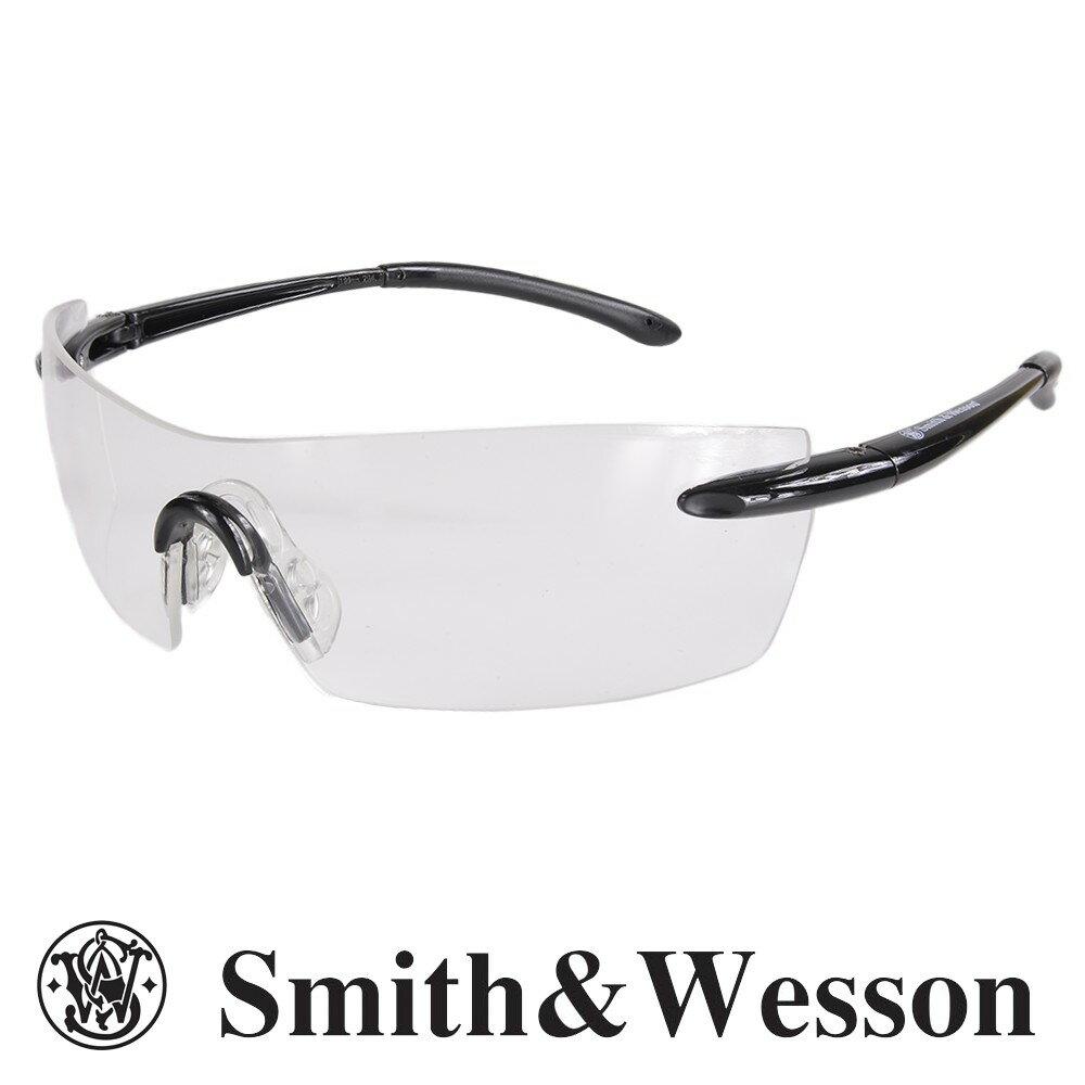 スミス&ウエッソン サングラス キャリバー クリア S&W | スミス&ウェッソン メンズ スポーツ 紫外線カット UVカット グラサン 運転 ドライブ バイク ツーリング 曇り止め 透明