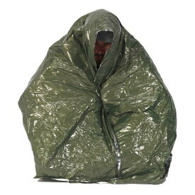 NDUR 緊急用防寒具 エマージェンシーサバイバルブランケット 61420 NDURマミー型 シュラフザック スリーピングバッグ シュラーフザック 緊急用寝袋