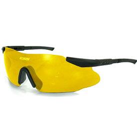 ESS サングラス ICE 3 EYESHIELD [ イエロー ] イーエスエス アイス 3.0 3LS 2LS ONE military 本物 シューティンググラス 射撃用サングラス 射撃用メガネ 保護メガネ セーフティーグラス セーフティグラス 保護眼鏡 保護めがね 安全メガネ 作業用メガネ