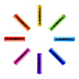 BPS RAINBOW 単4形充電池 ニッケル水素充電池(900mAh)BPS-4NIJI 1Pスカイブルー