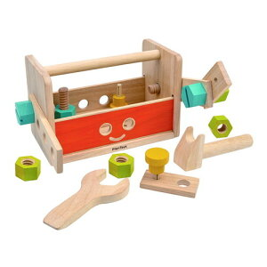 PLANTOYS プラントイ ロボットツールボックス 木のおもちゃ 知育玩具 木製玩具 リハビリ 指先運動 脳活 グッズ 室内遊び