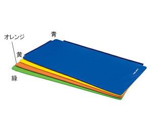 ストレッチ連結マット180 オレンジ 幅90×長さ180×厚さ2cm H7482V 4518891261685
