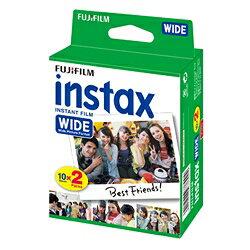 FUJIFILM インスタントカメラ instax ワイド用フィルム インスタックスワイドフィルム 60枚 (20枚x3個)