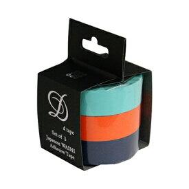 ナカバヤシ 和紙マスキングテープD tape/3本パック/15MM DT15-3P-11【お取り寄せ】