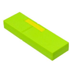 ナカバヤシ ディスプレイペンケース Mサイズ グリーン PCN-DP02GN