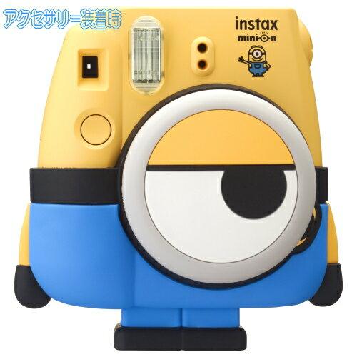 【数量限定品】富士フィルム チェキカメラ チェキ8ミニオン INS MINI 8 MINION