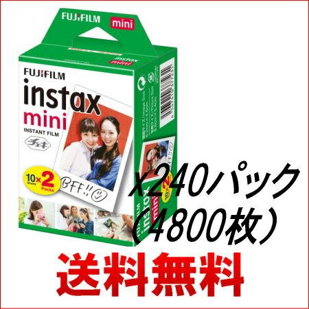 フジフィルム チェキ用フィルム4800枚(2Px240パック)4547410377231