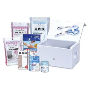 白十字 救急セットBOX型 キュウキュウセット ボックスガタ【4987603142305】