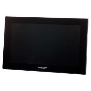 BLUEDOT ブルードット パーソナルデジタルテレビ9インチ ブラック BTV-910K
