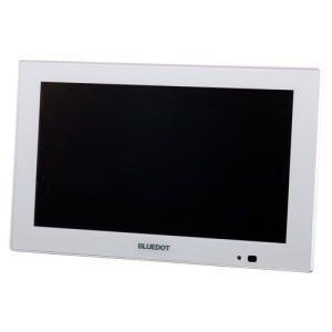 BLUEDOT ブルードット パーソナルデジタルテレビ9インチ ホワイト BTV-910W