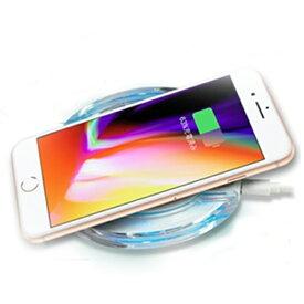 LEDライト付きワイヤレス充電器【送料無料】 充電 ワイヤレス LEDライト iphone 8 iPhone X iPhone XS Max iPhone XR iPhone 8Plus スマートフォン アンドロイド 充電器 無線充電 オシャレ スマホ用品 便利アイテム 人気商品 【3】