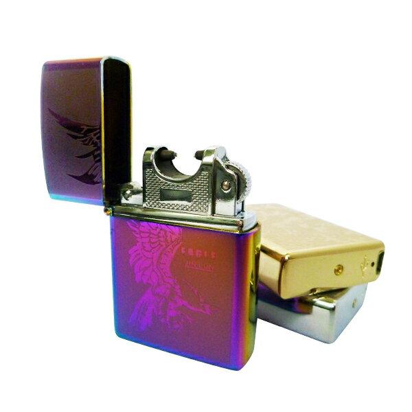 【送料無料】■USB充電式柄付きプラズマライター ライター■プラズマ/ライター/アーク放電/着火/たばこ/ジッポ風/プレゼントに/選べる5色/贈り物