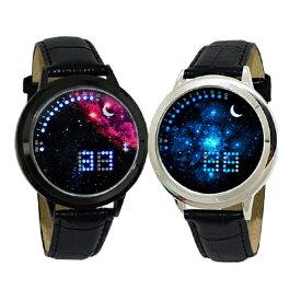 近未来腕時計【送料無料】 タッチ式 LED スタイリッシュ オシャレ アナログ 腕時計 時計 ファッション 【1】
