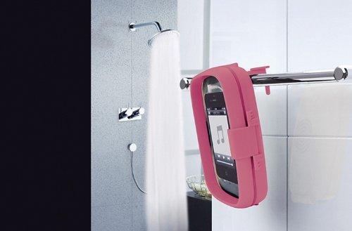 在庫限り!【送料無料】防沫仕様お風呂スピーカー [SR-115] お風呂 リラックス スピーカー スマホ