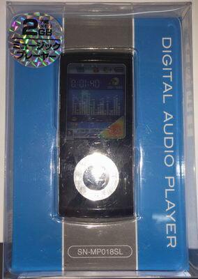 <<ジャンク品>> 訳アリ2GBポータブルMP3プレーヤー 音楽プレーヤー[SN-MP018] MP3 ミュージック スポーツ