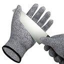 【送料無料】防刃グローブ 護身用品 護身グッズ 手袋 防刃用 黒 刃物 ガラス 金属 災害 強化繊維 軍手サイズ ゴミ分…
