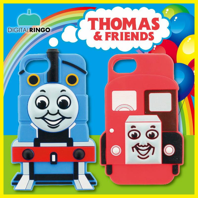 iPhone8/7トーマス Design シリコンケースiPhone7ケース 機関車トーマス iphoneケース iphoneシリコンケース トーマス トーマスケース キャラクター ケース トーマス バーティー アイホン7 可愛い かわいいケース iphone ケース おもしろ