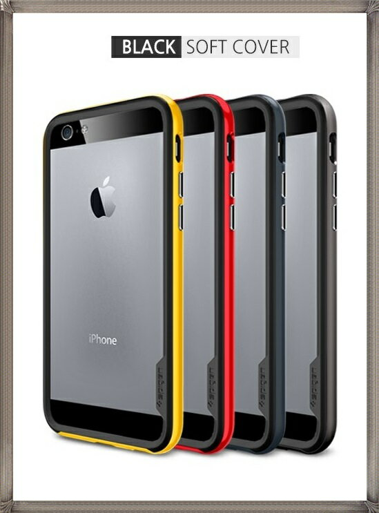 spigen iPhone6専用 ネオ・ハイブリッド EX ブラックソフトカバー 国内正規品iphone6 ケース iphone 6 iphone 6用ケース スマホケース カバー スマホカバー シュピゲン iphone6 ネオハイブリッド アイフォン6ケース 耐衝撃 バンパー アイフォン6ケース 頑丈
