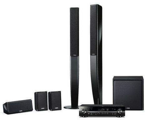 YAMAHA ヤマハ 5.1chスピーカーパッケージホームシアターシステム YHT-903JP (ブラック) 新品
