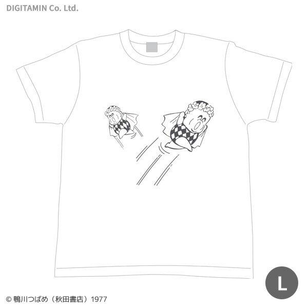 送料無料◆YUTAS マカロニほうれん荘 「惑星のメルヘン」Tシャツ Lサイズ(ZG33815)