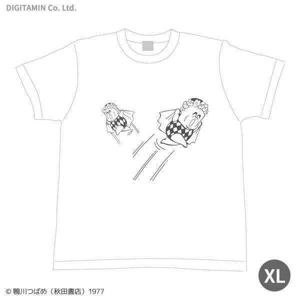 送料無料◆YUTAS マカロニほうれん荘 「惑星のメルヘン」Tシャツ XLサイズ(ZG33816)