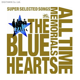 THE BLUE HEARTS 30th ANNIVERSARY ALL TIME MEMORIALS SUPER SELECTED SONGS (CD2枚組通常盤) / ザ・ブルーハーツ (CD)◆ネコポス送料無料(ZB38215)