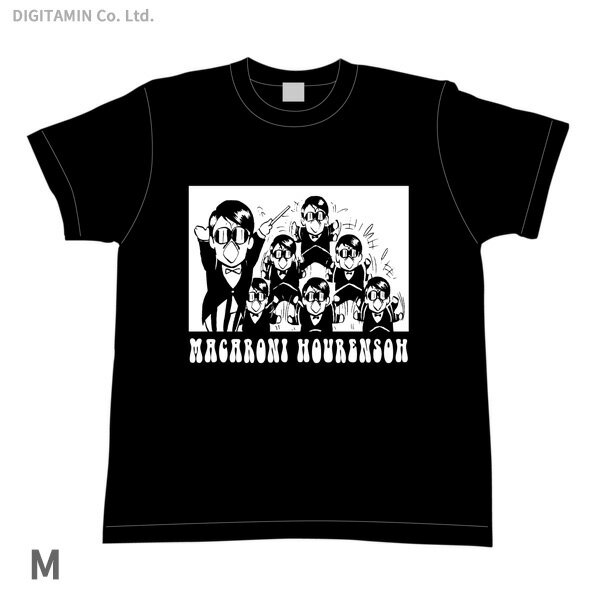 YUTAS マカロニほうれん荘 分身トシちゃん Tシャツ 黒 Mサイズ◆ネコポス送料無料(ZG55285)