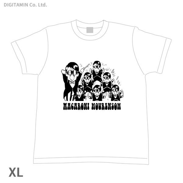 YUTAS マカロニほうれん荘 分身トシちゃん Tシャツ 白 XLサイズ◆ネコポス送料無料(ZG55292)
