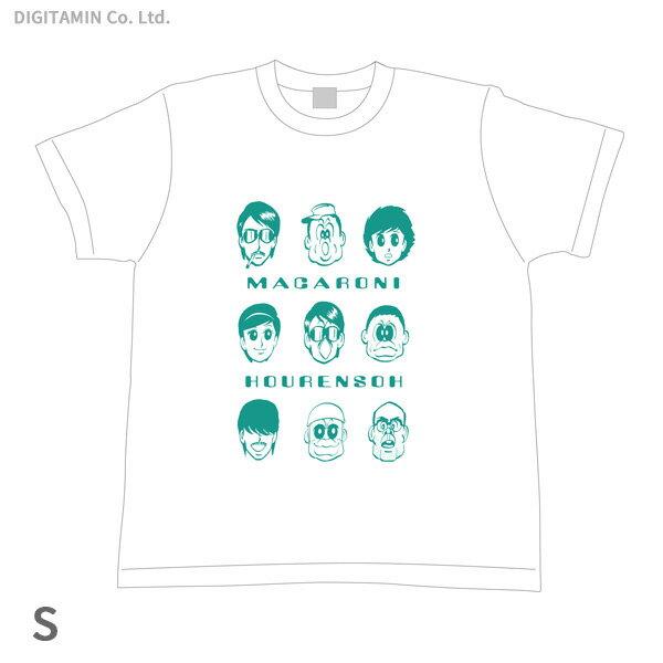 YUTAS マカロニほうれん荘 キーメンバー Tシャツ 白 Sサイズ◆ネコポス送料無料(ZG55294)