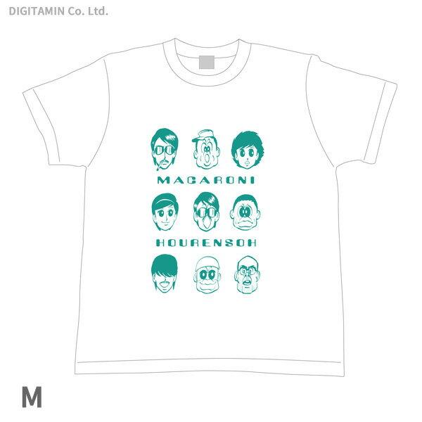 YUTAS マカロニほうれん荘 キーメンバー Tシャツ 白 Mサイズ◆ネコポス送料無料(ZG55295)