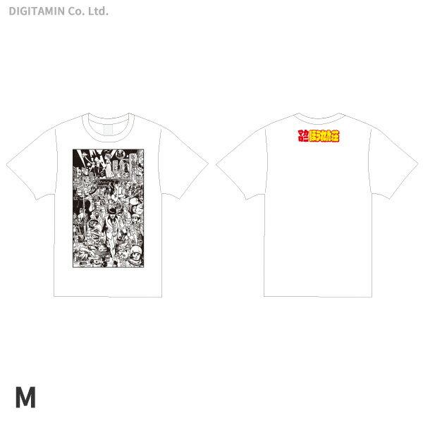 YUTAS マカロニほうれん荘(七味先生) Tシャツ 白 Mサイズ◆ネコポス送料無料(ZG55320)