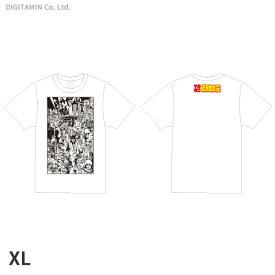 YUTAS マカロニほうれん荘(七味先生) Tシャツ 白 XLサイズ◆ネコポス送料無料(ZG55322)