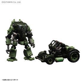 RIHIO MM002-Green 1/60 マルチアビス V-リンク メカ ディフェンダー + コンストラクション セット グリーン プラモデル(ZP65260)