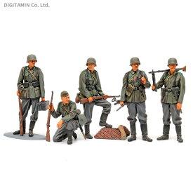 タミヤ 35371 1/35 ミリタリーミニチュアシリーズ No.371 ドイツ歩兵セット (大戦中期) プラモデル (ZS71361)
