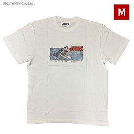 YUTAS ジョーズTシャツ JAWS ATTACK WH Mサイズ◆ネコポス送料無料(ZG74576)