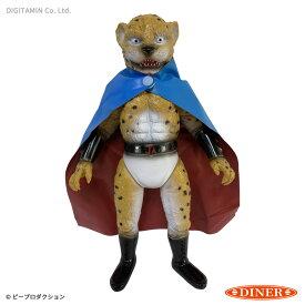 送料無料◆DINER レトロソフビ 豹マン(ひょうマン) フィギュア (ZF83747)
