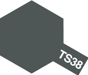 タミヤカラースプレー TS38 ガンメタル 100ml 85038