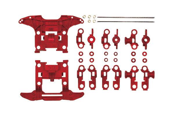 タミヤ ミニ四駆グレードアップパーツ N-04・T-04強化ユニット(レッド)(W0210)
