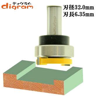 라우터 비트 다도-&프레나파탄빗트1/2축(인경 32 mm ) Microtungsten carbide