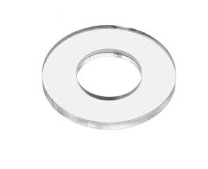 ポリカ ワッシャー ポリカーボネイト 透明(クリア) プラスチックワッシャー M10 小箱1000個入り