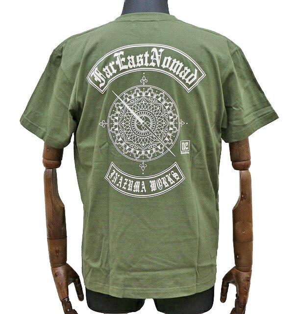エアフィッシュ 【AirFish】 Far East Nomad Tシャツ 【シティグリーン】