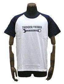 エアフィッシュ 【AirFish】 THUNDER WORKS Tシャツ 【ホワイト/ネイビー】