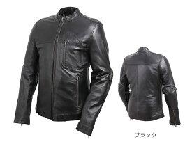 デグナー 【DEGNER】 レザージャケット (ブラック) (羊革) 【19SJ-1】