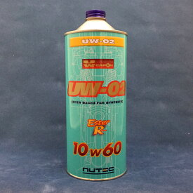 NUTEC 【ニューテック】 UW-02 【10W-60】 【1L】【4サイクルレーシングオイル】