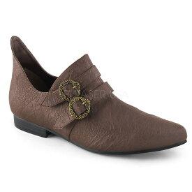 取寄せ靴 FUNTASMA ファンタズマ ルネサンス シューズ 茶 ブラウン つや消し合皮 大きいサイズあり 26 26.5 27 27.5 28 28.5 29 29.5 30 30.5 31 31.5 32 cm センチ
