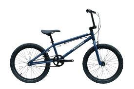 BMX 完成車 TRUCKERS BMX 20' MAT NAVY 【自転車 バイク スポーツバイク 完成品 クロモリ 初心者 シンプル おしゃれ 紺 マット ネイビー】