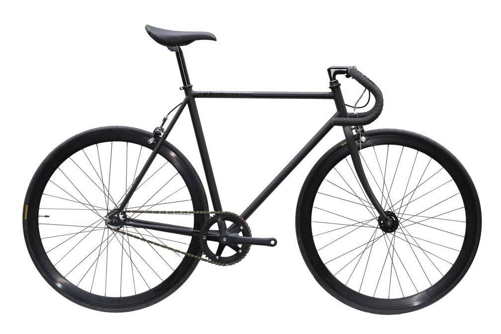 ピストバイク 完成車 CARTEL BIKES AVENUE BLACK PISTBIKE【カーテルバイク アベニュー マットブラック】