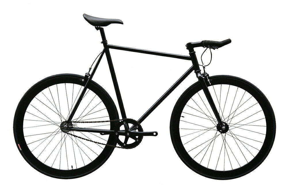 ピストバイク 完成車 CARTEL BIKES AVENUE LO MAT BLACK PISTBIKE【カーテルバイク アベニュー ロウ マットブラック】