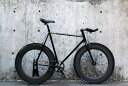 "CARTEL BIKES ""AVENUE LO"" DINER FRONT & REAR 88mm CARBON WHEEL CUSTOM MAT BLACK【カ..."