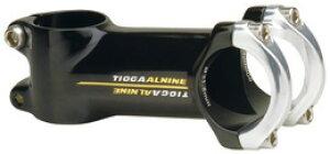 マウンテンバイク MTB ステム TIOGA  タイオガ AL NINE Φ31.8mm 84° 96°BLACK  ALナイン ブラック